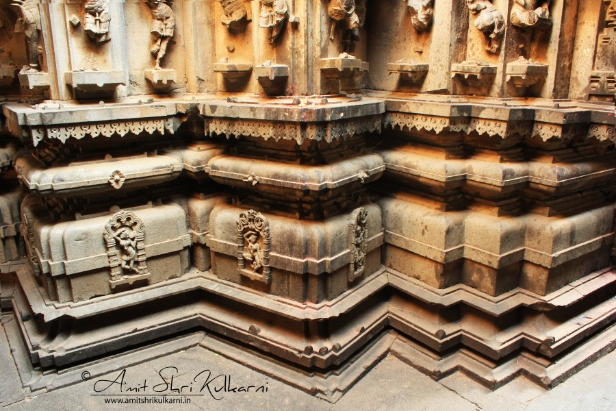 Base of the Bhuleshwar temple